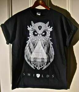 Image of OWL BLACK SHIRT