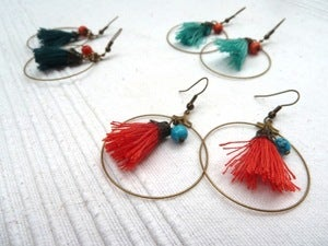 Image of Boucles d'oreilles Kachina