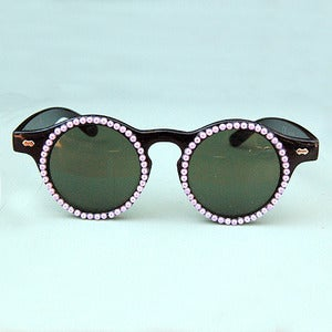 Image of Pearly Pink Customized Sunglasses