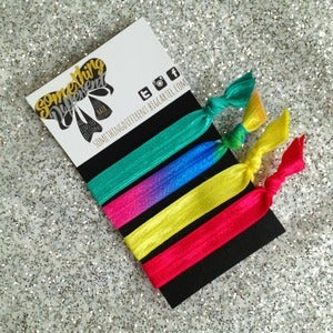 Image of Rainbow Mix Hair Ties