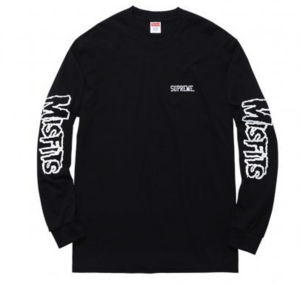Image of Supreme Misfits Long Sleeve T Shirt