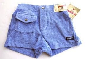 Image of Vintage 1970's Stubbies Terrycloth Shorts, 27""