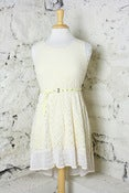 Image of Lemon Icee Lace Love Dress