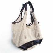 Image of stash your life tote - flax