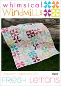 Image of Whimsical Windmills Quilt Pattern - PDF