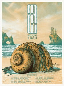 Image of Medeski, Martin &amp; Wood Spring 2013 Tour Poster