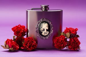 Image of Lolita Skeleton Flask