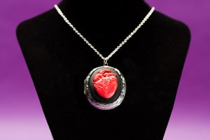 Image of Anatomical Heart Locket