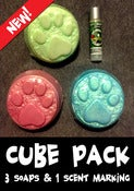 Image of Cube Pack: 3 Soaps & 1 Scent Marking