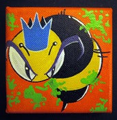 "Image of KingBee ""Mini OrangeBee"" Canvas"