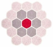 Image of Large Floor Mat - multi pink