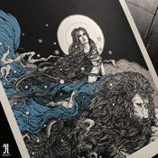 Image of 'CONVICTION' Limited Edition Screen Print SOLD OUT