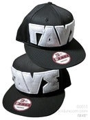ΓΔVΣ® Logo NewEra® Snapback <br>Black+White