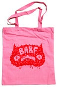 Image of BARF (tote) bag in pink