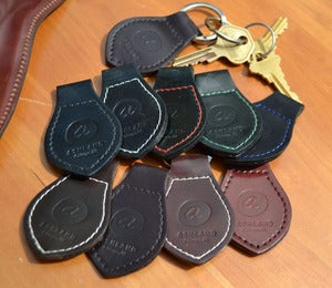 Image of Chicago Outfit Insignia - Shell Cordovan Key Fob