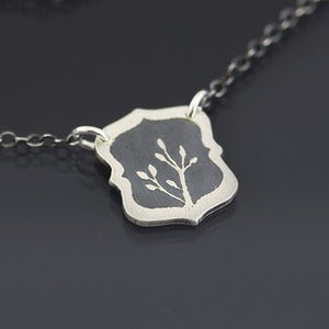 Image of Framed Branch Necklace