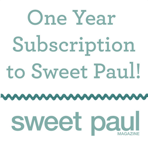 Image of 1 Year Subscription to Sweet Paul Magazine - 4 Issues - Starting with Summer 2013 Issue