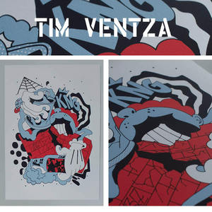 Image of VENTZA A3 Screen Print