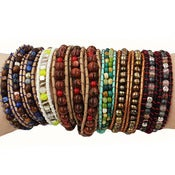 Image of Hand-Woven Wrap Bracelets [LH]