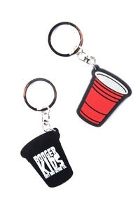 Image of Party Cup Keychain