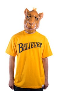 Image of Believer Tee - Yellow