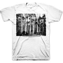 Image of IN THE WOODS WE RETURN TO REASON &amp; FAITH tee shirt