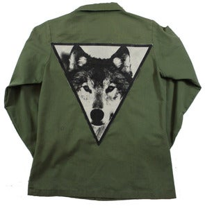 Image of GREEN WOLF ARMY JACKET 