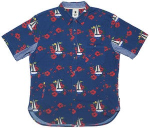 Image of BODEGA PRINT S/S SHIRT TROPICAL