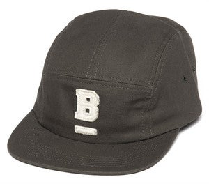 Image of BODEGA UNDERSCORE 5 PANEL CAP DARK CANVAS