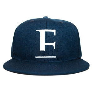 Image of E Logo Strap Back in Navy