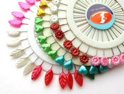 Image of 1 x Rainbow Wheel of Pins -choice of designs