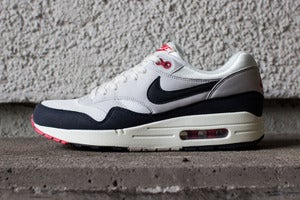 Image of Nike - Air Max 1 OG (grey/ white/ navy)