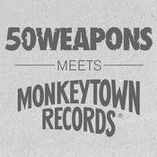 Image of VARIOUS ARTISTS - 50 Weapons Meets Monkeytown Records - 12""