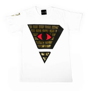Image of Gold Bricks (White Tee)