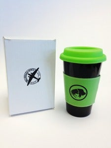 Image of Cup 'O Joe To Go (Ceramic Travel Mug)