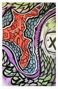 Image of Sea Creature 2ft x 3ft Original SLOTH Painting