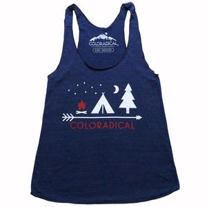 Image of Camp Coloradical Tank Tops