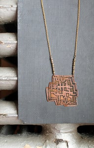 Image of brutalist necklace