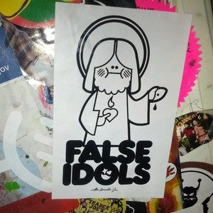 Image of False Idols Stickerpack by Abe Lincoln Jr.