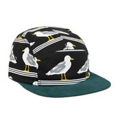 Image of ONLY NY - SEAGULLS 5-PANEL (BLACK/MALLARD)