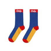 Image of ONLY NY - SPORT SOCK (ROYAL MULTI)