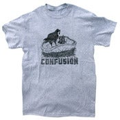 Image of Confusion - Pool Nest (grey tee)