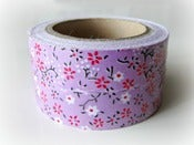 Image of Fabric Tape &quot;Lilac Japan&quot;