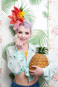 Image of Pink Cadillac Tiki Fascinator