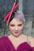 Image of Brighton Rock Fascinator- choose your own colour