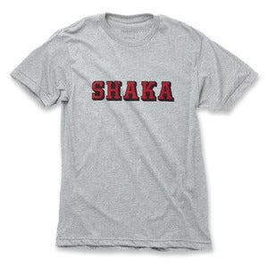 Image of SHAKA T-shirt - Heather Grey