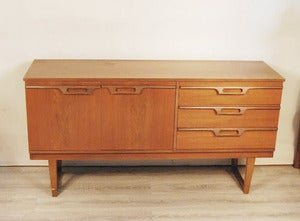 Image of ENFILADE SCANDINAVE EN TECK ANNES 60 - REF.1280