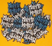 Image of MIDNITE HELLION Logo Patch (White)