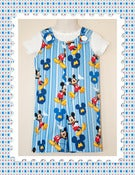 Image of Mickey Mouse Shorts Romper