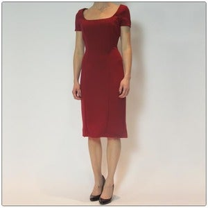 Image of The Perfect Scarlet Dress